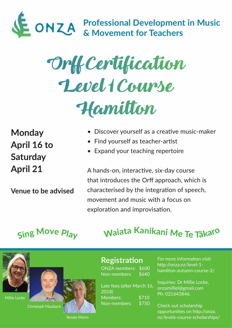 Level 1 Level 2 Orff Approach Courses Events The Big Idea