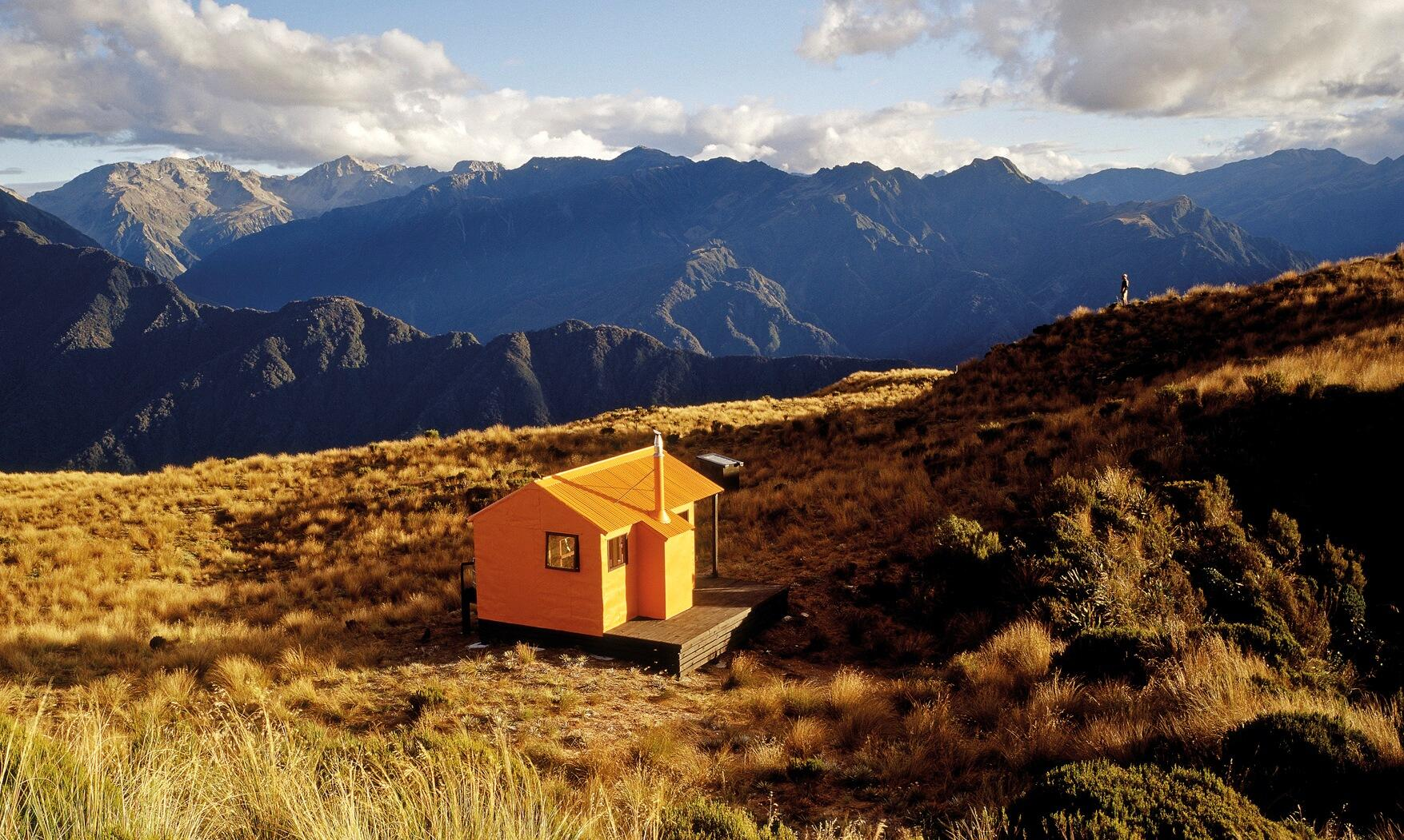 shelter from the storm nz 39 s backcountry huts media releases the big idea arts creative. Black Bedroom Furniture Sets. Home Design Ideas