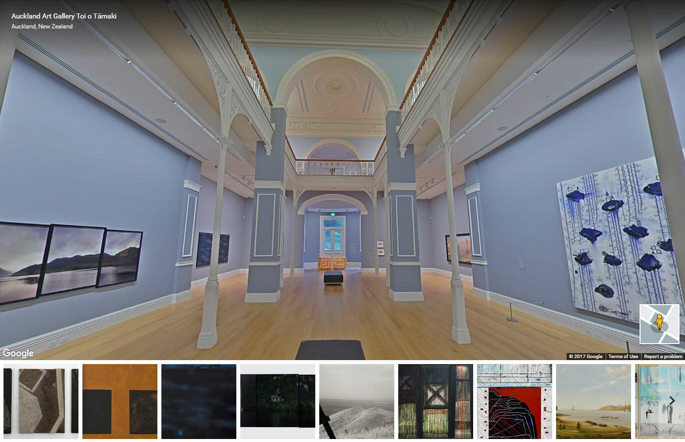 A New Zealand First Google Museum View Showcases Auckland