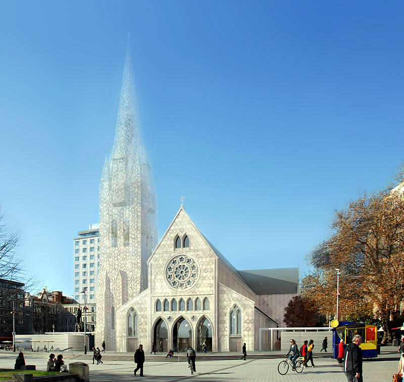 christchurch cathedral design the big idea