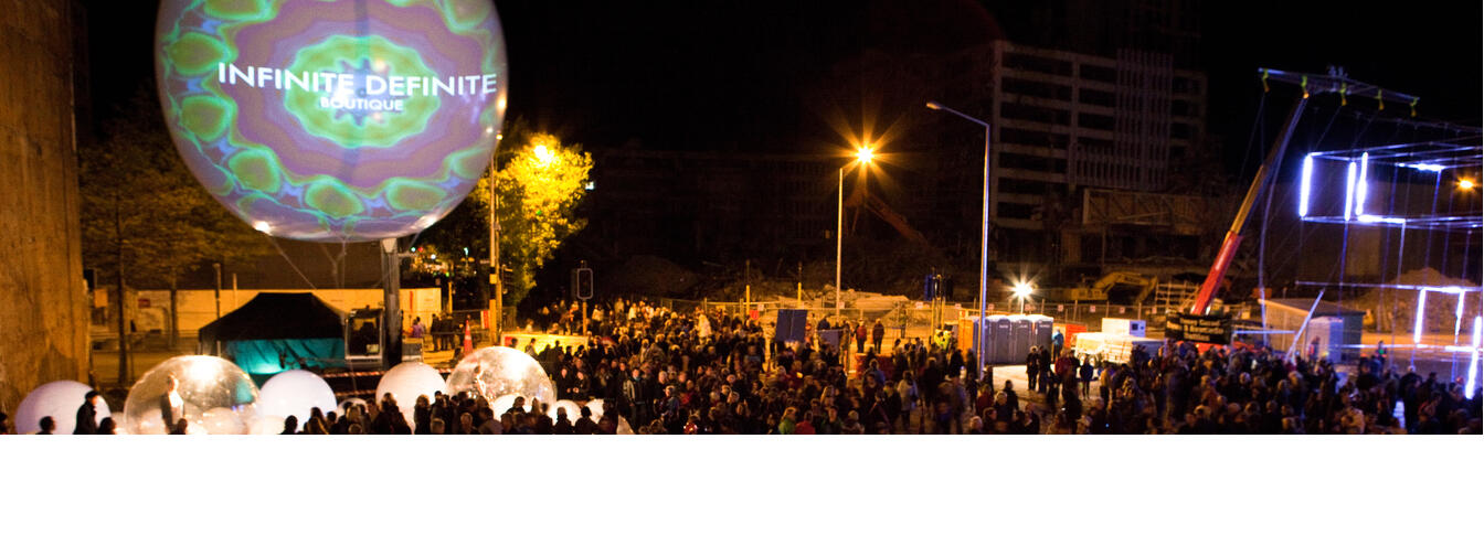 LUXCity, a Studio Christchurch led collaboration for FESTA 2012. Photo / Bridgit Anderson