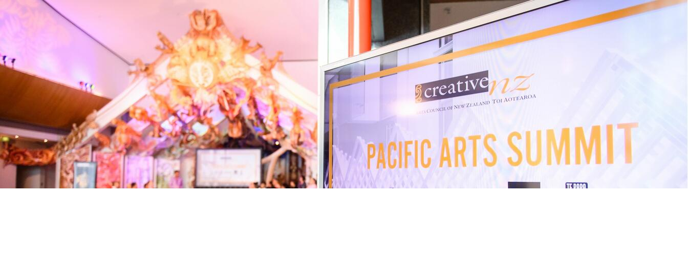 Pacific Arts Summit. Image - Creative New Zealand
