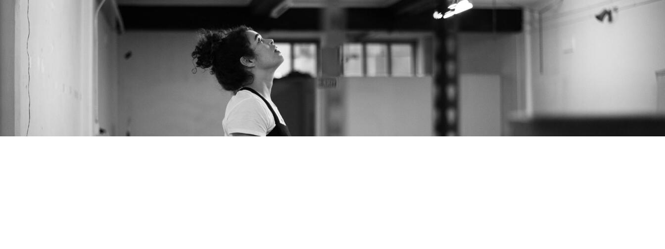 Photo by Amanda Billing in rehearsal for Cult Show