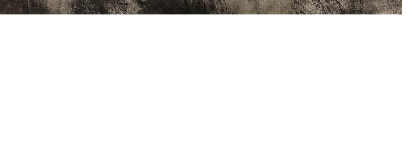 Merthyr Ruxton, Landscape. Charcoal on 300 gsm Fabriano paper. Courtesy the artist.