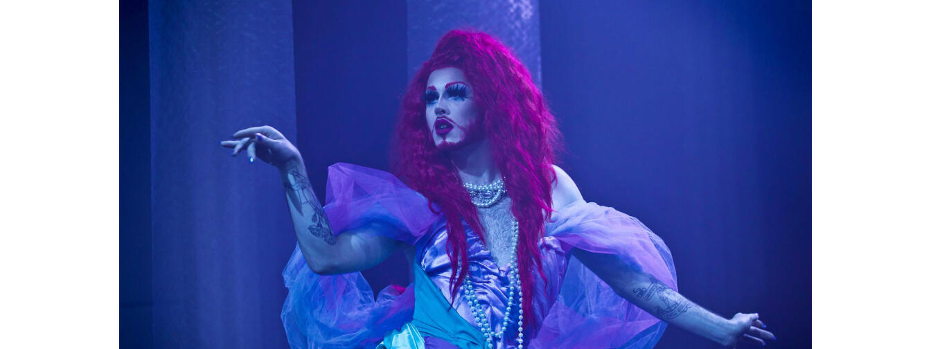 "Hariel, one of six drag performers who will appear in ""Lit-Sync for Your Life"" on November 9."