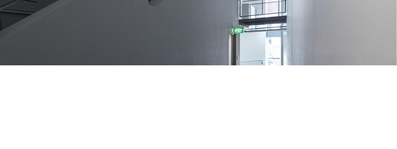 Campbell Patterson, Untitled (Sing), 2014, two-channel HD video, 59 mins, 58 secs, courtesy of Michael Lett, Auckland. In the exhibition Inhabiting Space at Adam Art Gallery Te Pātaka Toi, Victoria University of Wellington. Photo / Shaun Waugh.