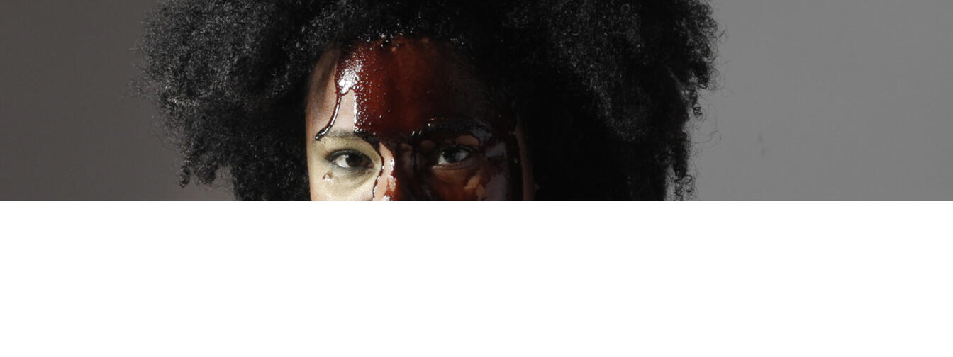 Desiree Burch's latest solo show Tar Baby is at the Auckland Arts Festival. Photo / Halston Bruce