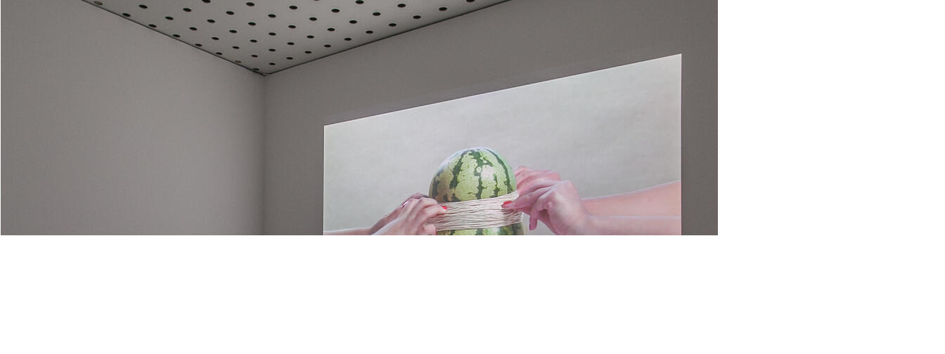 Watermelon, Steve Carr, 2015, edition of five, in installation Centre of Contemporary Photography.