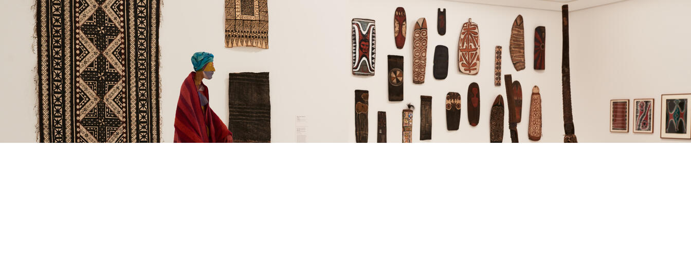 Installation view of Art of the Pacific at NGV International. Photo / Brooke Holm