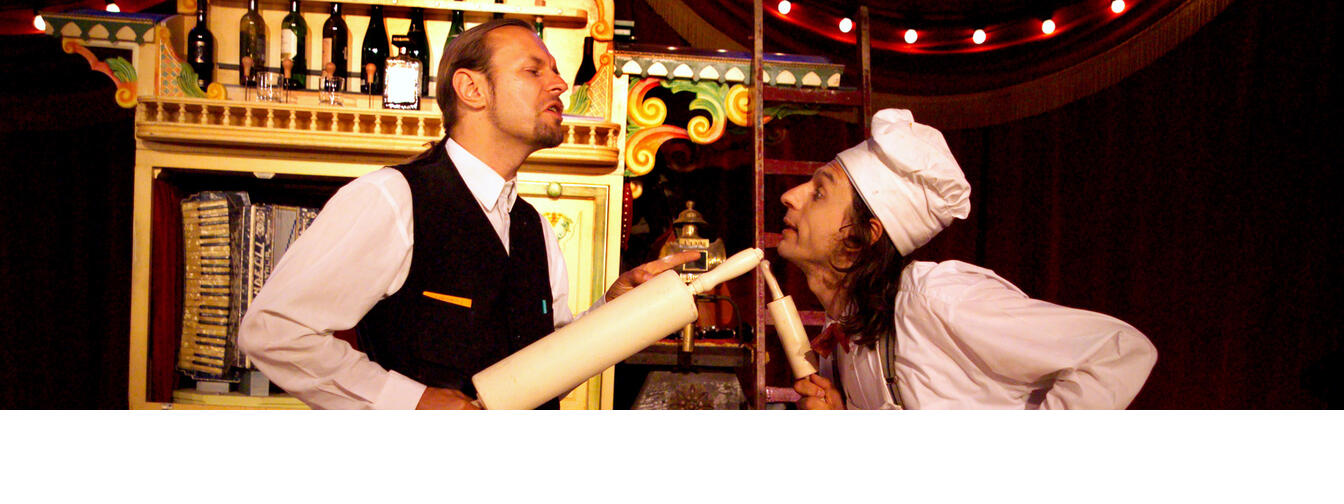 Danny and David Ronaldo put a new spin on the family tradition of circus theatre.