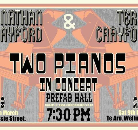 Two Pianos in Concert