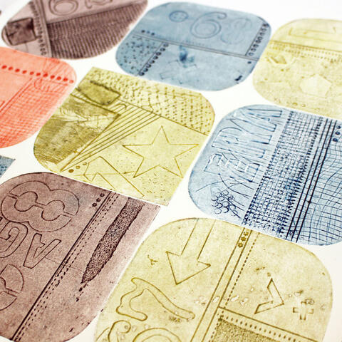 Collagraph plates