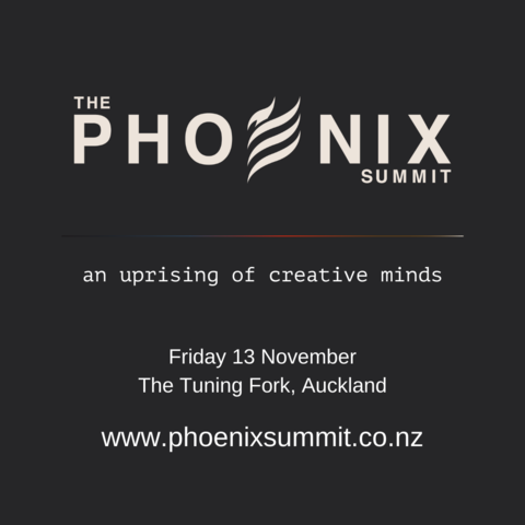 An uprising of creative minds. Friday 13 November at The Tuning Fork, Spark Arena, Auckand