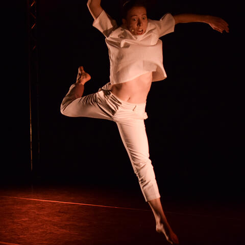 Rosie Tapsell in Artifact, one of four dances in The Movement