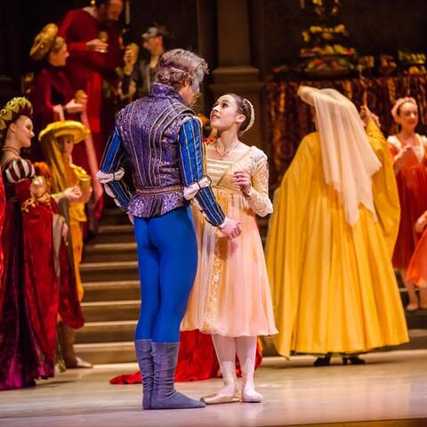 A scene from Romeo and Juliet Photo: RNZB/Stephen A'Court