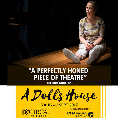 A Doll's House at Circa Theatre, sponsored by Chapman Tripp