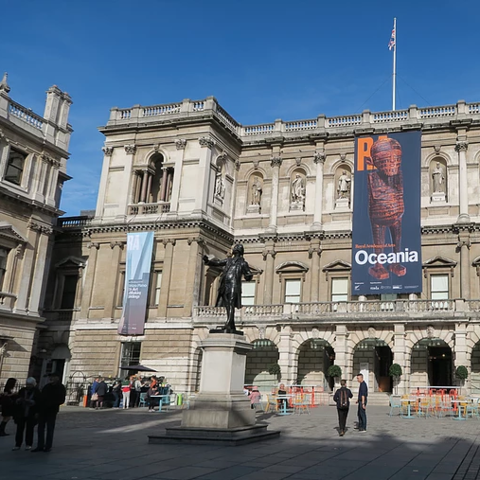 Oceania exhibition at the Royal Academy of Arts