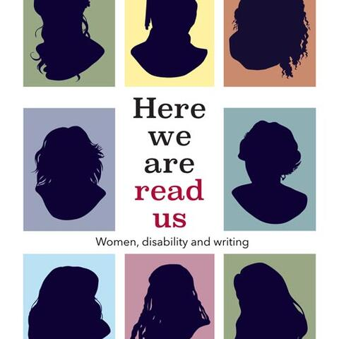 The cover of Here we are, read us