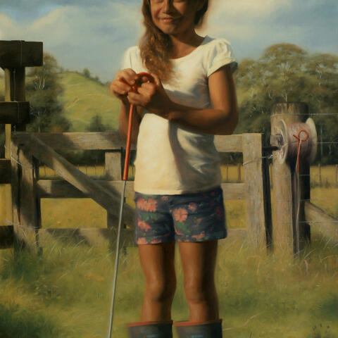 "Painting: ""Fencing assistant"" by Mark Anstis"