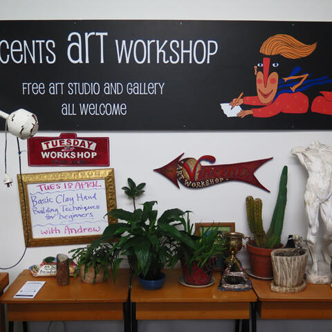 Vincents Art Workshop in Wellington