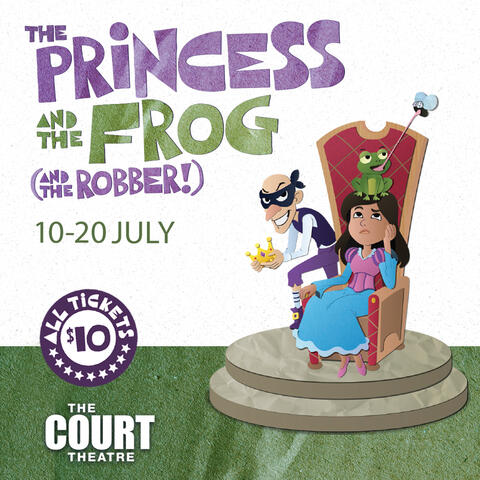 The Princess and the Frog (and the Robber!)