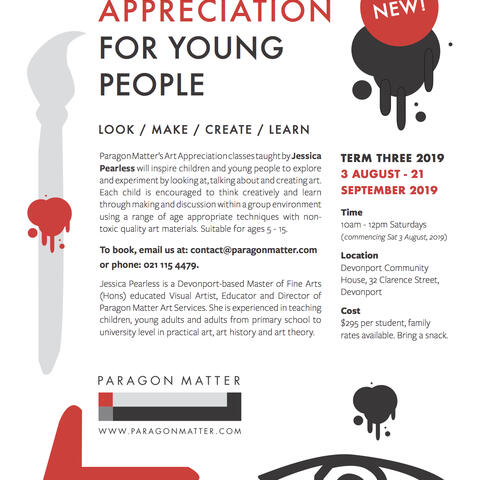 Paragon Matter Art Appreciation for Young People Course Poster