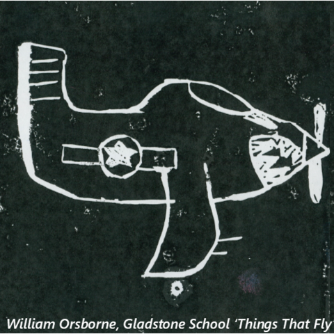 Things That Fly, William Orsborne, Gladstone School
