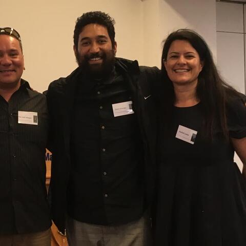 Rue-Jade Morgan, Otago Polytechnic, Chris Ulutupu, Arts Access Aotearoa, and Rachel Leota, Department of Corrections