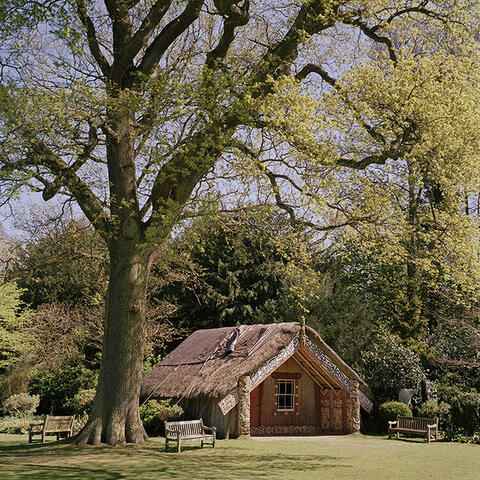 Gavin Hipkins The Homely Clandon Hinemihi 2015 Colour Photograph