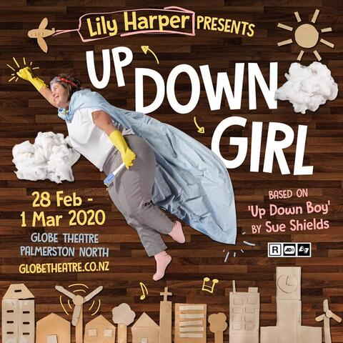 Up Down Girl promotional poster