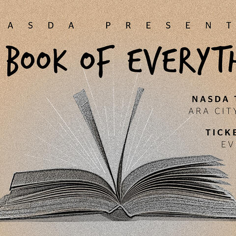 Details of NASDA's latest production 'The Book of Everything'
