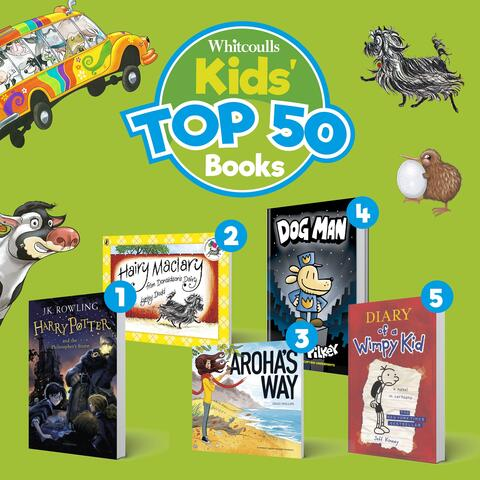 Whitcoulls Kids' Top 50 Books