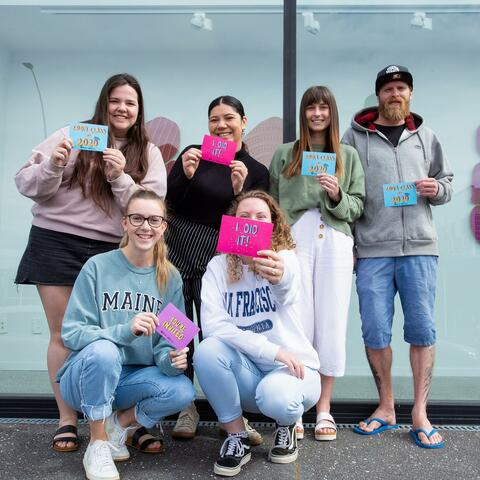 Wintec graduating design students are ready to celebrate alongside communication, contemporary art, music and performing arts students, at their final year showcase.