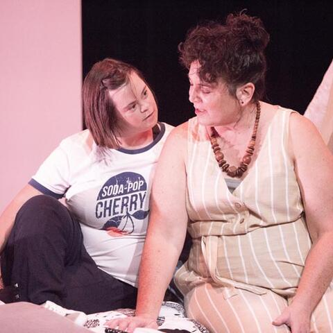 Lily Harper and Trudy Pearson in Up Down Girl