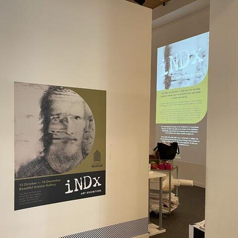 The iNDx  exhibition opened at Otago Museum on 13 October.