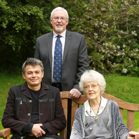 Recipients of the Prime Minister's Awards 2016 David Eggleton, Marilyn Duckworth and Atholl Anderson