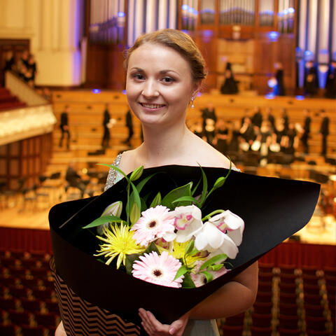 University of Auckland Graduation Gala Concerto Competition winner Anna Cooper