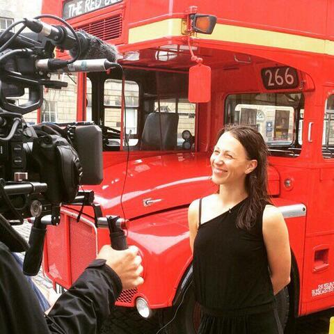 Java Dance's Sacha Copland is interviewed by BBC One about 'Back of the Bus'.