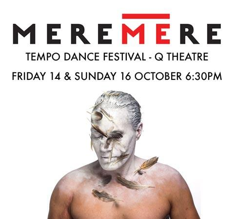 The poster advertising Rodney Bell's Meremere