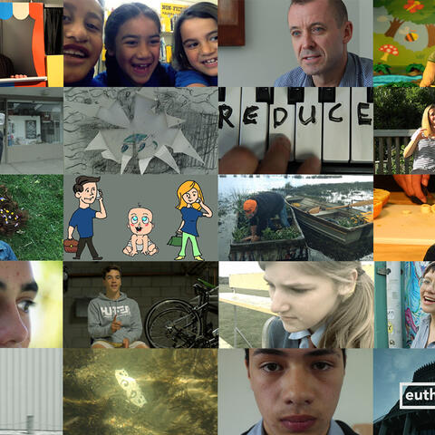 Mosaic with Winning Films from The Someday Challenge 2015