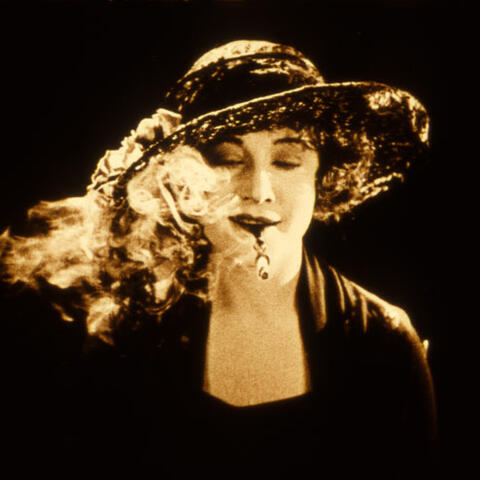 "Betty Compson as Nancy, ""the girl without a soul,"" in ""The White Shadow"" (1924), directed by Alfred Hitchcock."