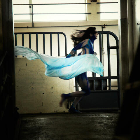 Ariel Running through Quarantine Station