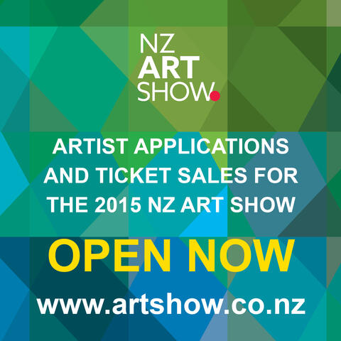 Artist applications and ticket sales for 2015 NZ Art Show open now