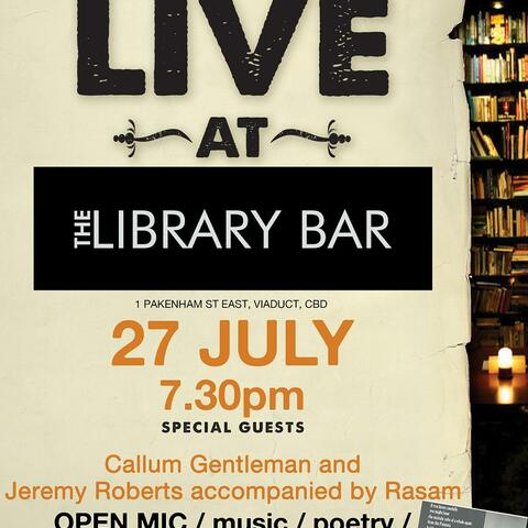 LIVE at The Library Bar