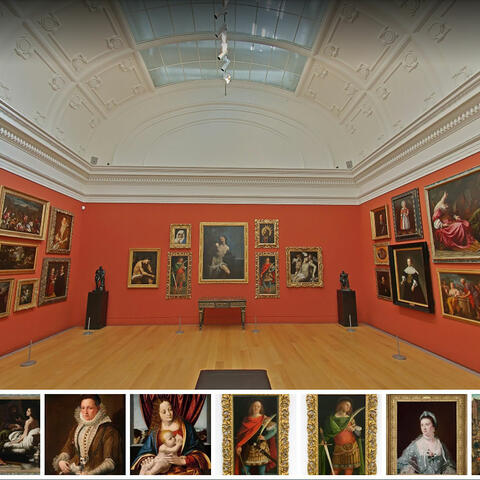 Auckland Art Gallery's Mackelvie Gallery on Google View