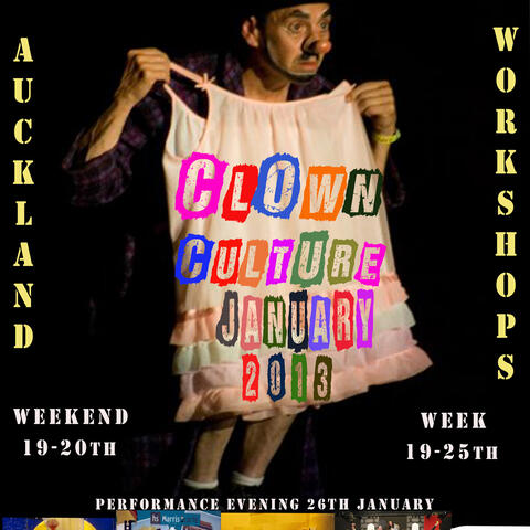 Clown Culture Workshops 2013 with Ira Seidenstein