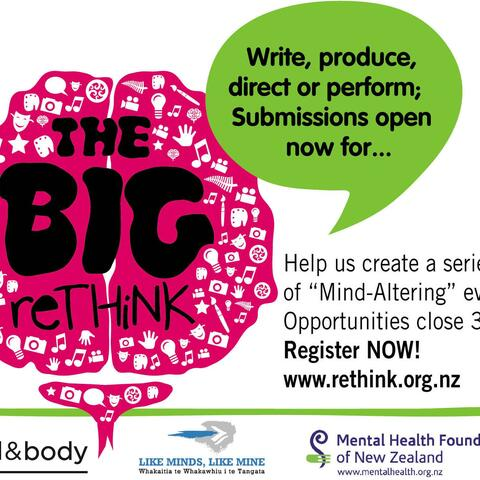 Write Produce Direct or Perform; Submissions open now for The Big reTHiNK