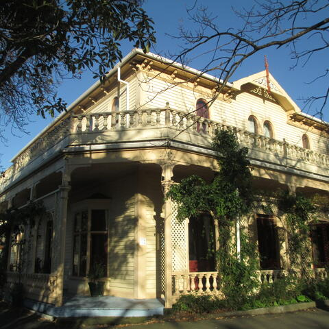 Dransfield Historic estate Willis street.