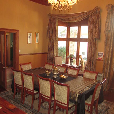 the Drawing Room .. made for dinner