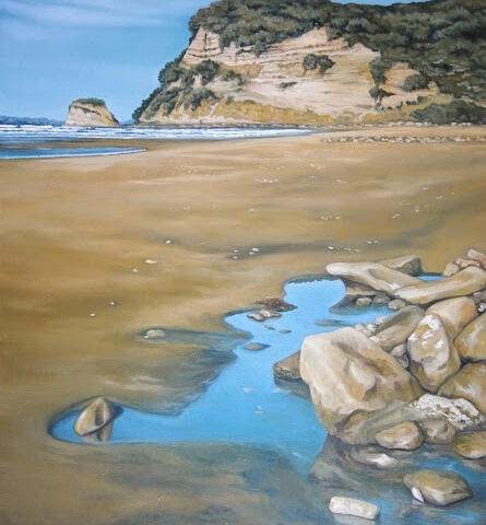 Low Tide (Mahurangi), By Arwen Flowers
